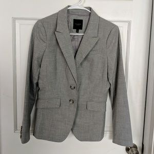Size 4 The Limited Heathered Grey Blazer